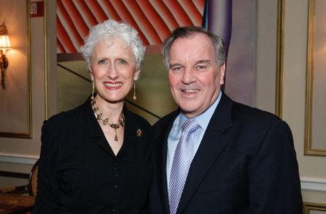 Sara and Mayor Daley at the Harold Washington Awards Banquet.